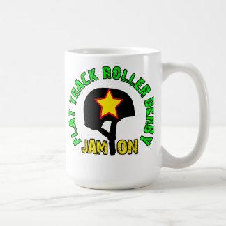 Flat Track Roller Derby, Jam On Coffee Mug