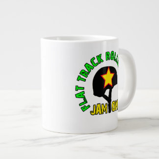 Flat Track Roller Derby, Jam On Giant Coffee Mug