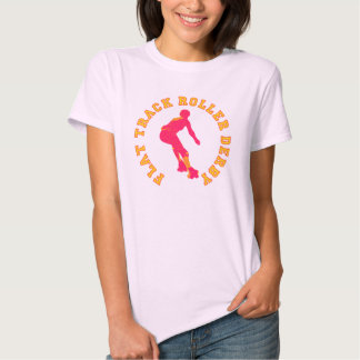 Flat Track Roller Derby Shirt