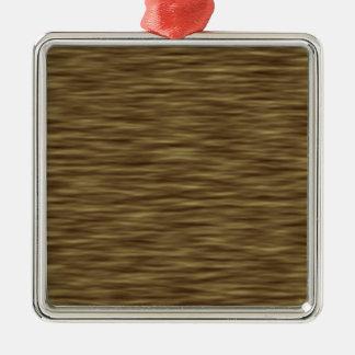 Flat wood nice cute Skin Case Metal Ornament