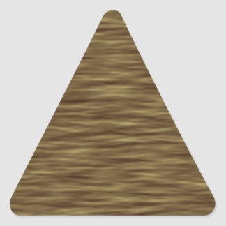 Flat wood nice cute Skin Case Triangle Sticker