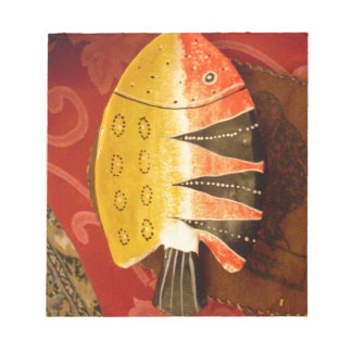 flat yellow and red fish with black stripes.jpg memo notepad