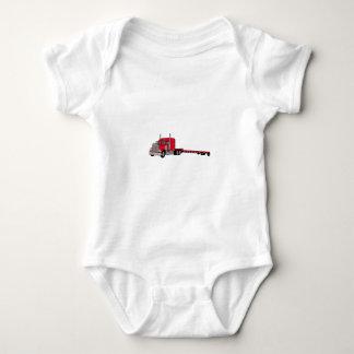 Flatbed Truck Baby Bodysuit
