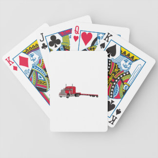 Flatbed Truck Bicycle Playing Cards