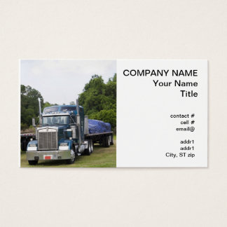 Flatbed Truck Business Card