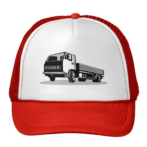 flatbed truck lorry hat