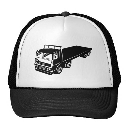 flatbed truck lorry mesh hats