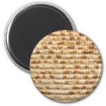 Flatbread de la galleta del Matzah Imán Redondo 5 Cm