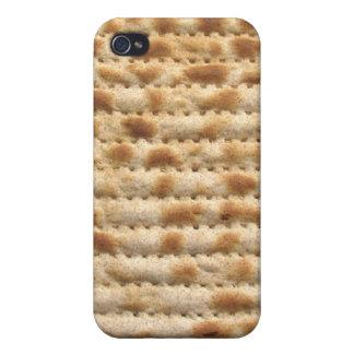 Flatbread de la galleta del Matzah iPhone 4 Carcasa