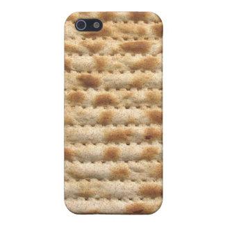 Flatbread de la galleta del Matzah iPhone 5 Carcasa