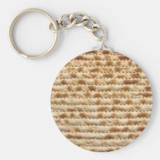 Flatbread de la galleta del Matzah Llavero