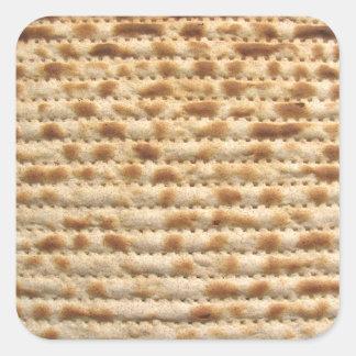 Flatbread de la galleta del Matzah Colcomanias Cuadradass