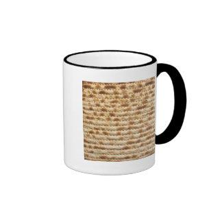 Flatbread de la galleta del Matzah Taza De Café