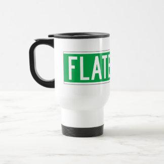Flatbush Av., New York Street Sign Travel Mug