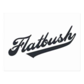 Flatbush Tarjeta Postal