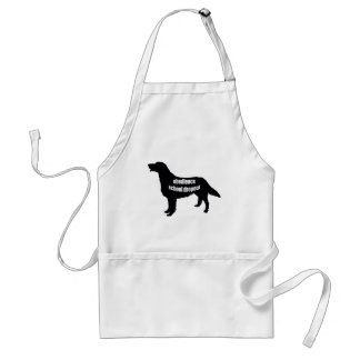 Flatcoat Retriever Adult Apron