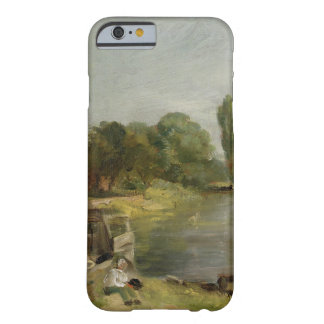 Flatford Lock, 1810-11 (oil on paper on canvas) Barely There iPhone 6 Case