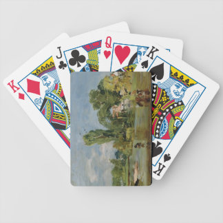 Flatford Mill, c.1810-11 (oil on panel) Bicycle Playing Cards