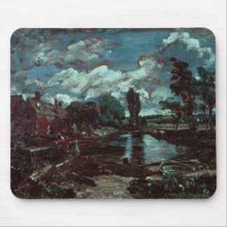Flatford Mill from a Lock on the Stour, c.1811 Mouse Pad