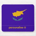 Flatgmousepad del chipriota de Chipre Tapetes De Ratón