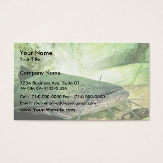 Flathead CatFish Business Card