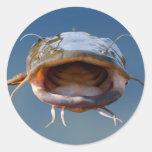 Flathead catfish Mouth Stickers