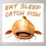 Flathead Catfish Poster