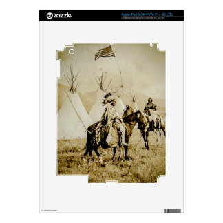 Flathead Indians Vintage Native American Warriors iPad 3 Skins