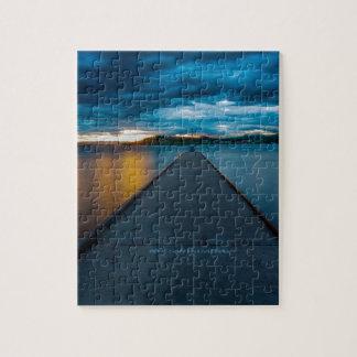 Flathead Lake Boat Dock Jigsaw Puzzle