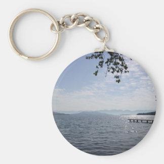 Flathead Lake Montana Keychain