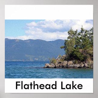 Flathead Lake Posters