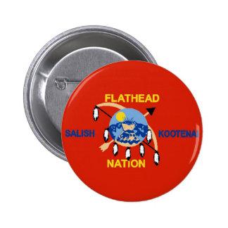 Flathead Nation 2 Inch Round Button