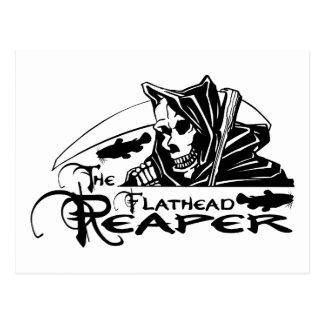 FLATHEAD REAPER POSTCARD
