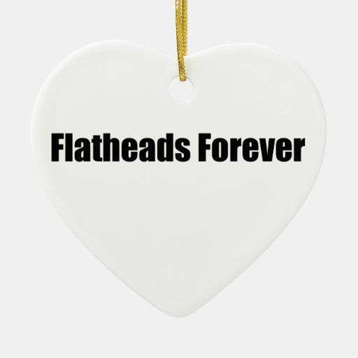 Flatheads Forever Christmas Tree Ornaments