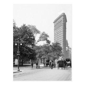 Flatiron a partir de la 5to, NYC: 1906 Postal