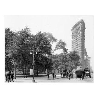 Flatiron a partir de la 5to NYC 1906 Tarjeta Postal
