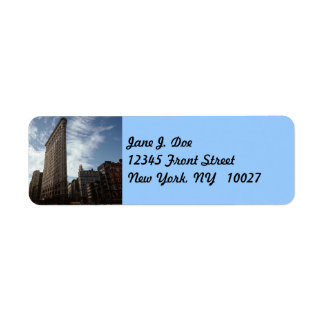 Flatiron Bldg 5th New York City NY Address Label