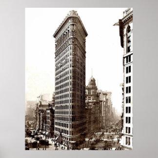 Flatiron Building 1910 Poster