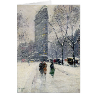 FLATIRON BUILDING NEW YORK CITY CARD