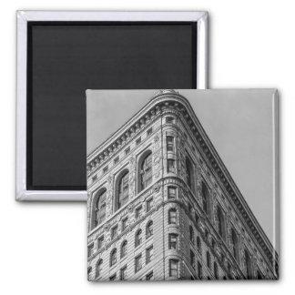 Flatiron Building New York City Photo 2 Inch Square Magnet