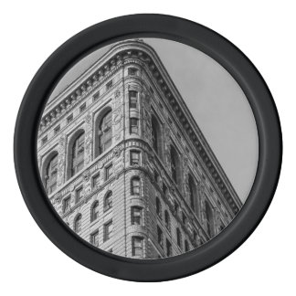 Flatiron Building New York City Photo Poker Chip Set