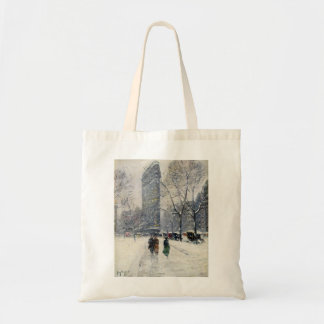 FLATIRON BUILDING NEW YORK CITY TOTE BAG
