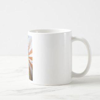 Flatiron Building - Orange & White Rays Coffee Mug