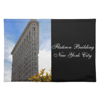 Flatiron Building Photo in NYC Cloth Placemat