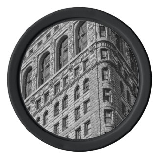 Flatiron Building Photo in NYC Set Of Poker Chips