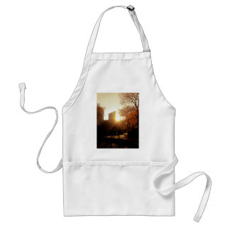 Flatiron Building Sunset in New York City Adult Apron