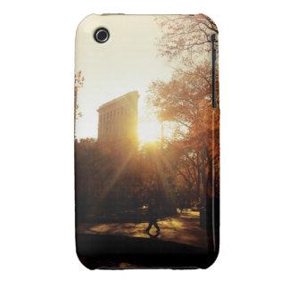 Flatiron Building Sunset in New York City iPhone 3 Case