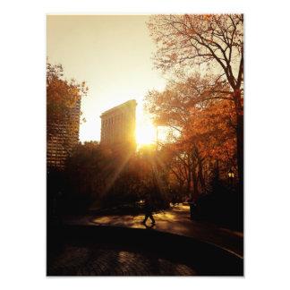 Flatiron Building Sunset in New York City Photo Print