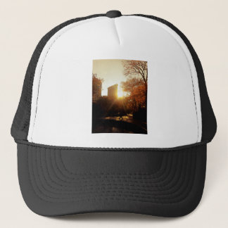 Flatiron Building Sunset in New York City Trucker Hat