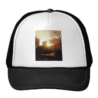 Flatiron Building Sunset in New York City Trucker Hat
